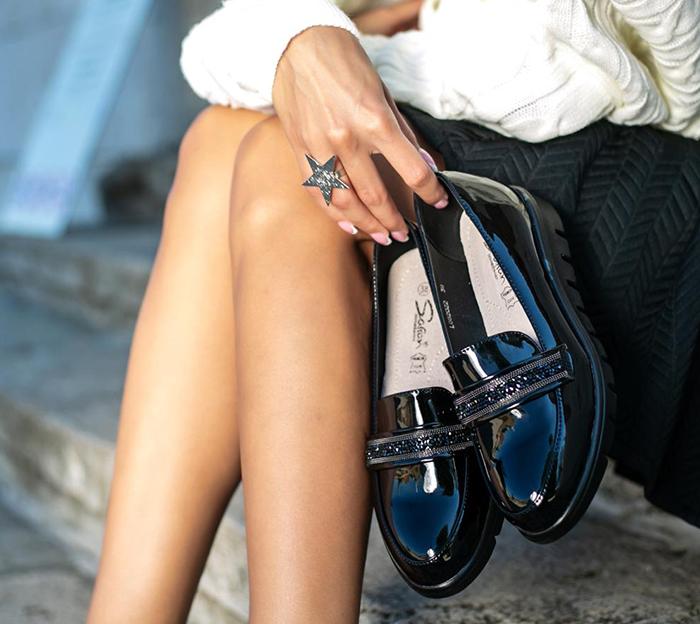 Baner ženske cipele jesen 2020 Safran